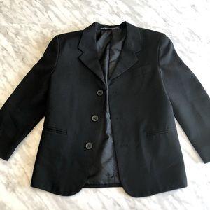Boys Size 6 Dockers Black Blazer